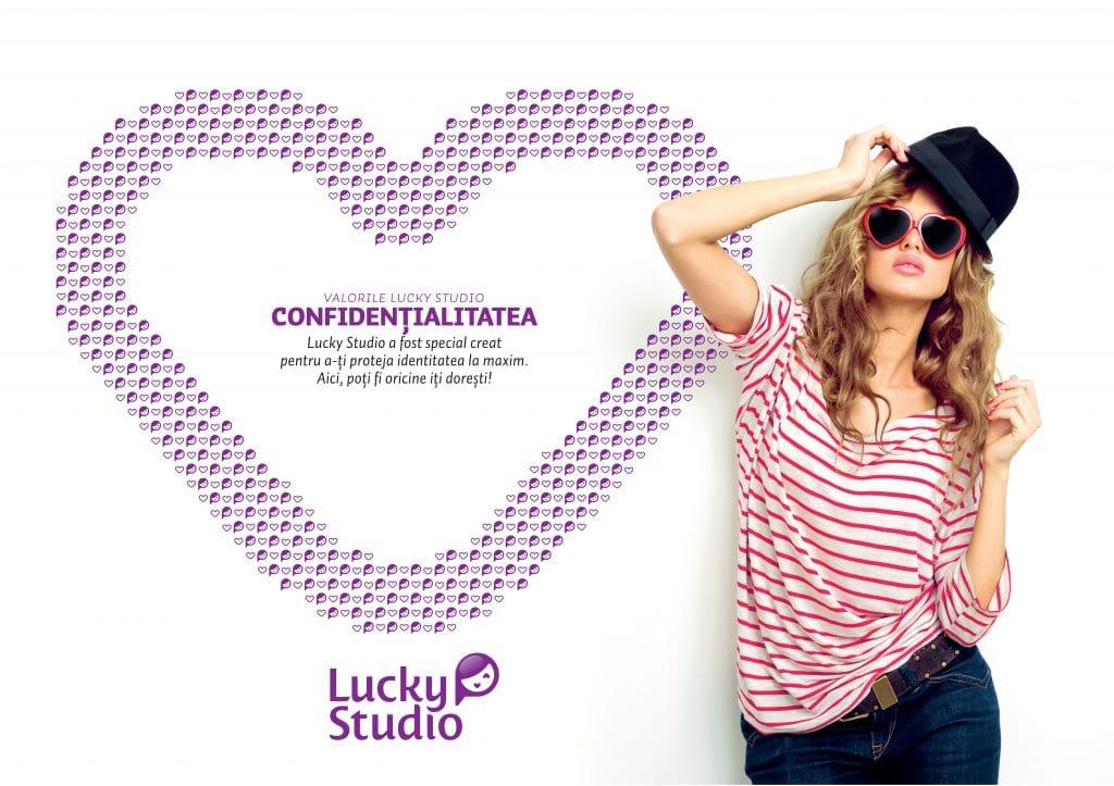 Lucky Studio angajare videochat modele Confidentialitatea