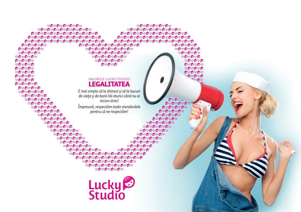 Lucky Studio angajare videochat modele Legalitate