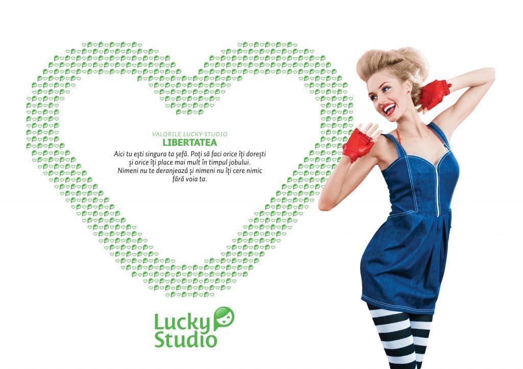 Lucky Studio angajare videochat modele Libertatea