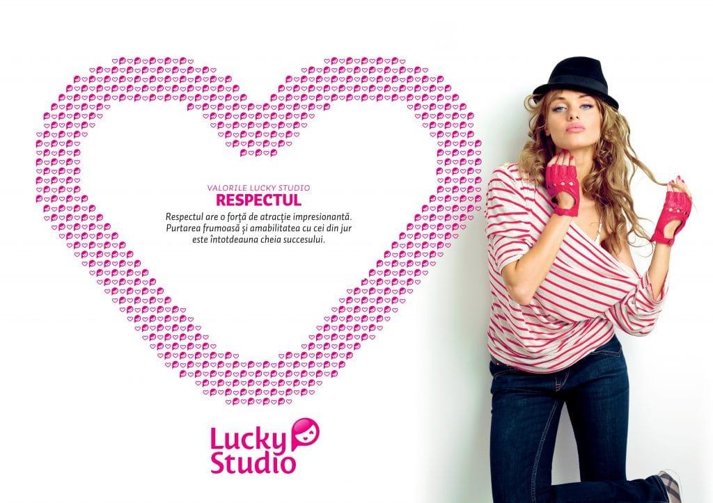 Lucky Studio angajare videochat modele Respectul