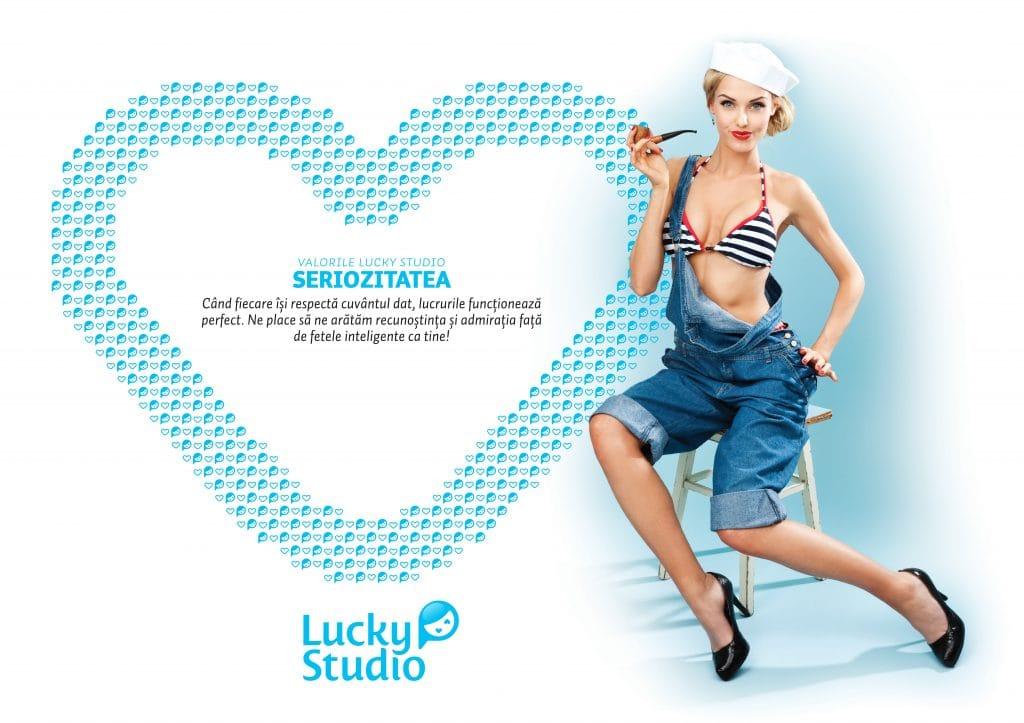 Lucky Studio angajare videochat modele Seriozitatea