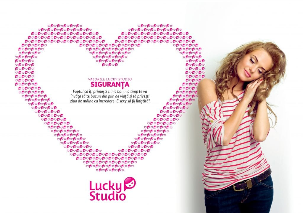 Lucky Studio angajare videochat modele Siguranta